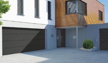 Complete Garage Doors Kings Lynn supply SWS white garage door