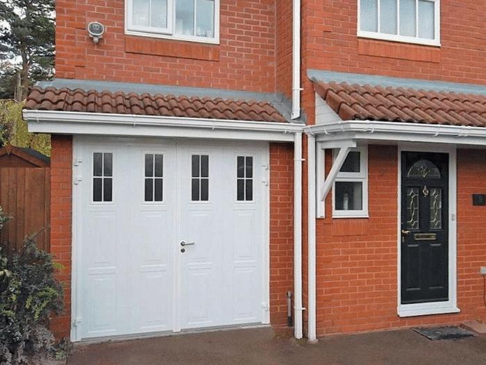 Garage Doors Kings Lynn supply Carteck side hinged garage doors