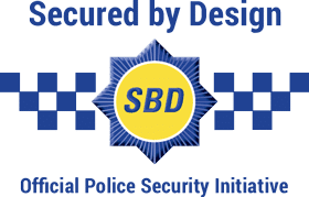 Secure by design logo for garage doors norfolk